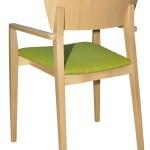 Fotel restauracyjny tapicerowany Neti BS'