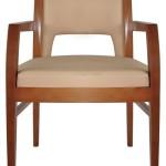 Fotel restauracyjny tapicerowany Rema 1 BS.