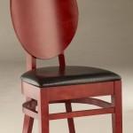 Krzesło restauracyjne tapicerowane AL-0153