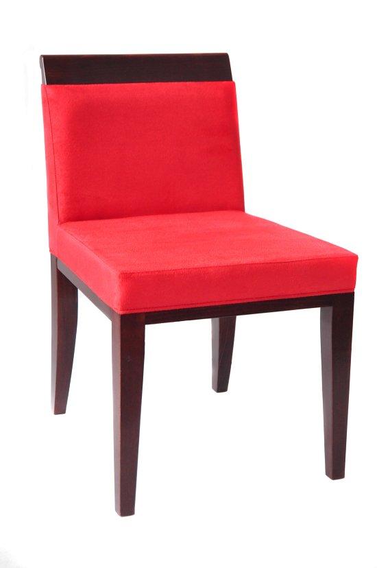 Krzesło restauracyjne tapicerowane AS-0804