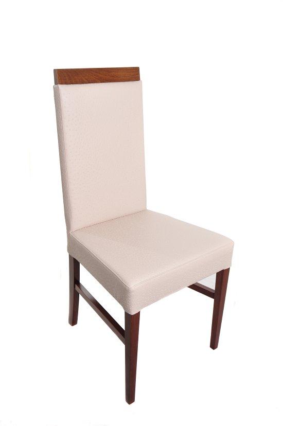 Krzesło restauracyjne tapicerowane AS-0903-1.