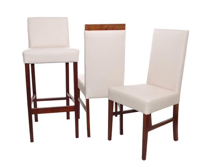 Krzesło restauracyjne tapicerowane AS-0903 rodzina