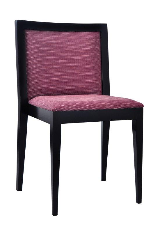 Krzesło restauracyjne tapicerowane AS-0907