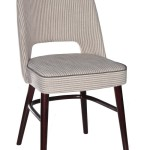 Krzesło restauracyjne tapicerowane AS-1210 (1)