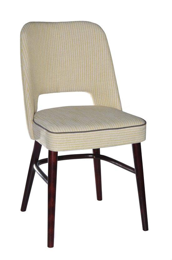 Krzesło restauracyjne tapicerowane AS-1210 (2)