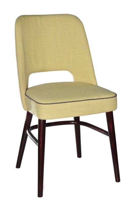 Krzesło restauracyjne tapicerowane AS-1210 (4)
