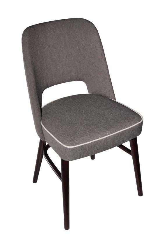 Krzesło restauracyjne tapicerowane AS-1210.
