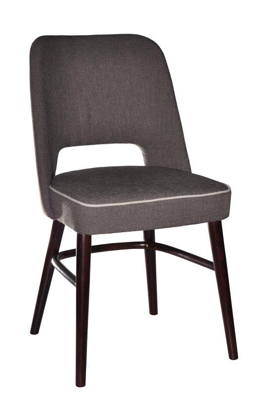 Krzesło restauracyjne tapicerowane AS-1210