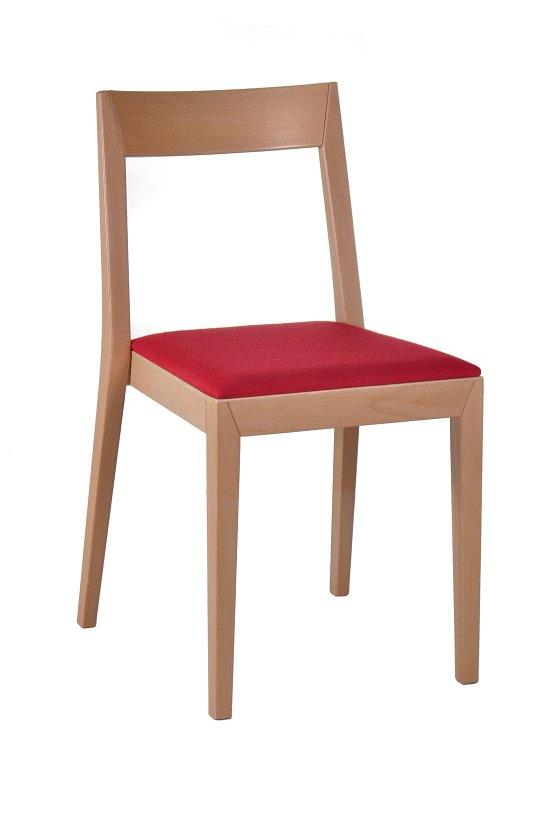 Krzesło restauracyjne tapicerowane AS-2310