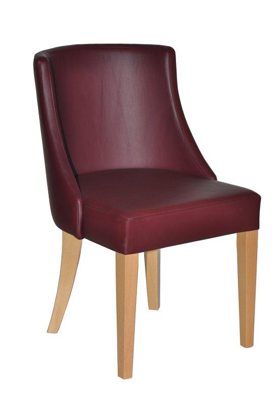 Krzesło restauracyjne tapicerowane AS-2811 Amira