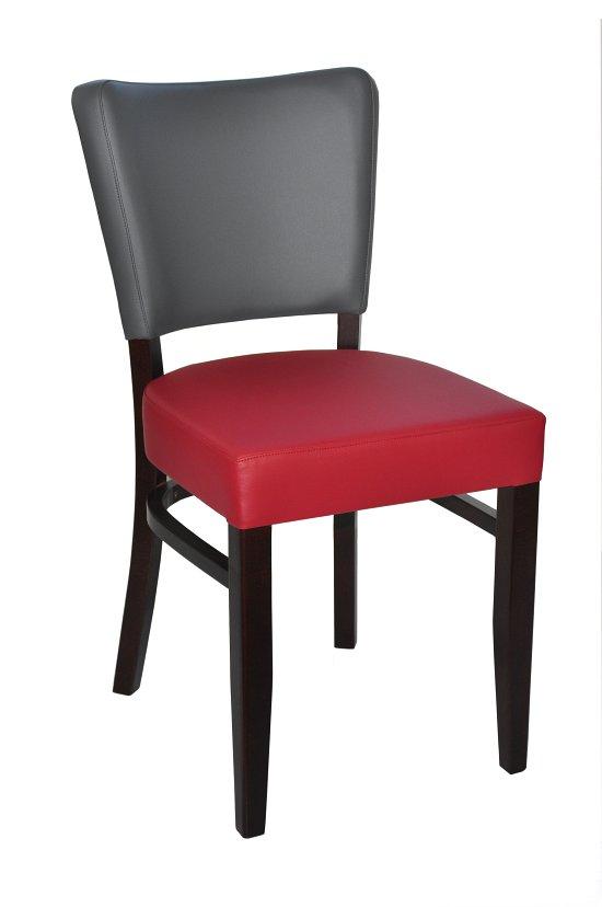 Krzesło restauracyjne tapicerowane AS-9608