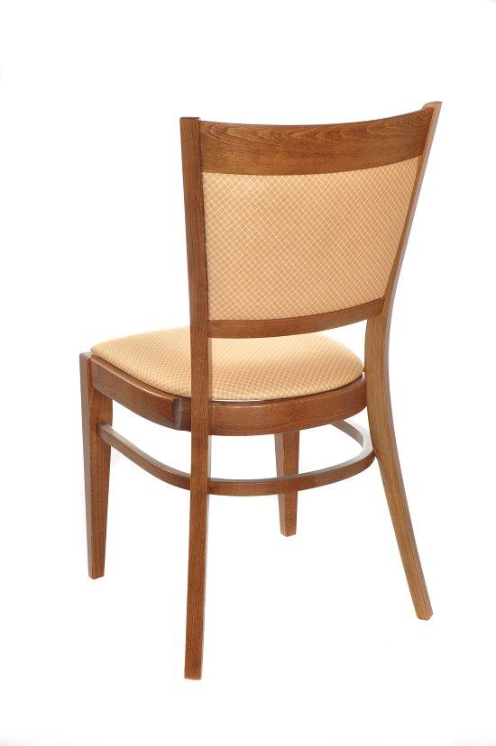 Krzesło restauracyjne tapicerowane AT-3904.