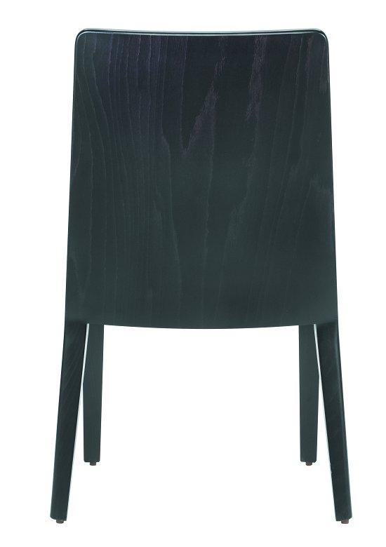 Krzesło restauracyjne tapicerowane Astro AS black