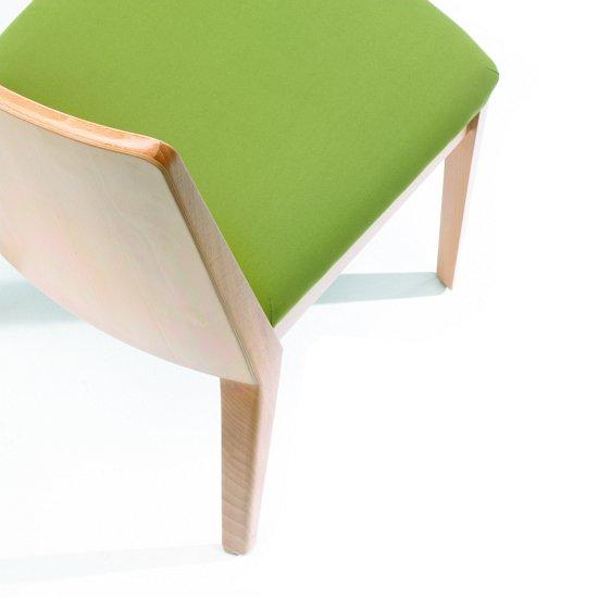 Krzesło restauracyjne tapicerowane Astro AS detal