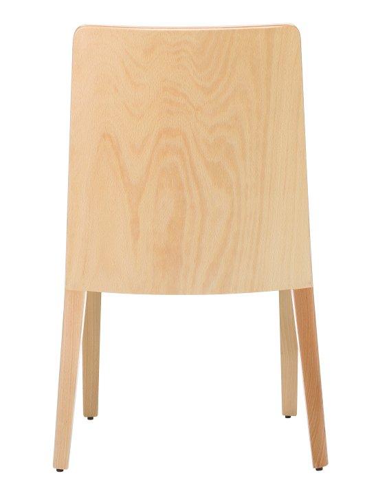 Krzesło restauracyjne tapicerowane Astro AS tył