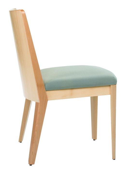 Krzesło restauracyjne tapicerowane Astro AS.