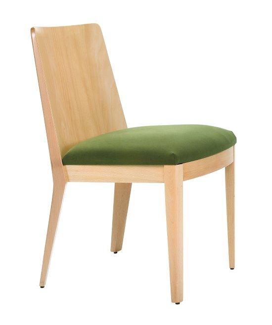 Krzesło restauracyjne tapicerowane Astro AS