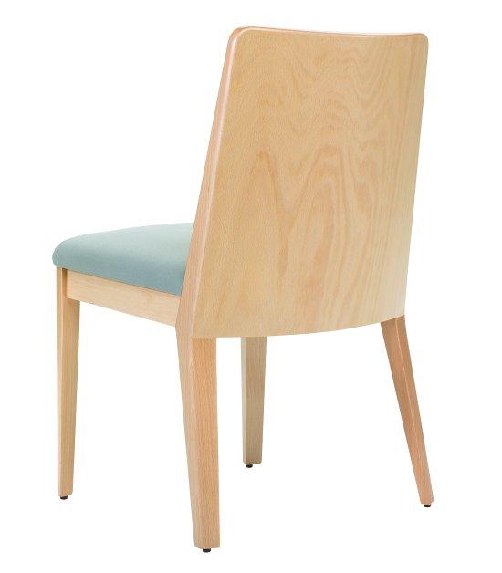 Krzesło restauracyjne tapicerowane Astro AS'
