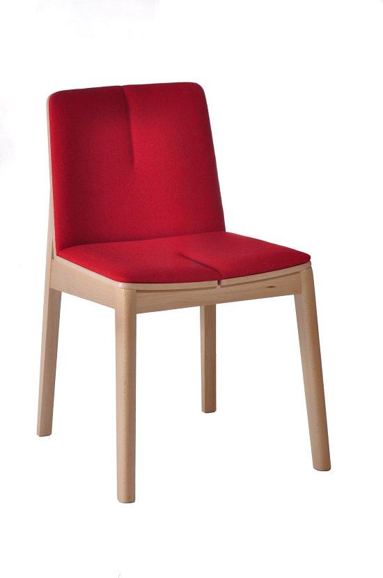 Krzesło restauracyjne tapicerowane Bart 1 AS.