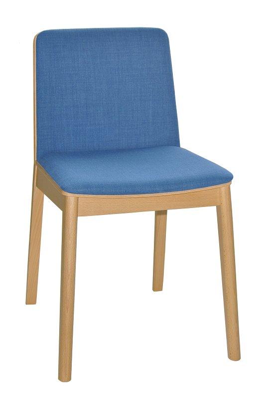Krzesło restauracyjne tapicerowane Bart 1 AS