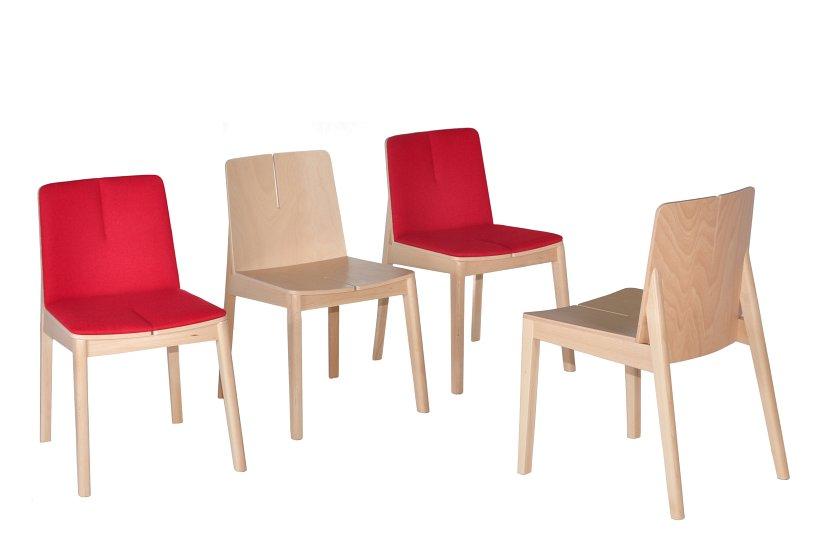Krzesło restauracyjne tapicerowane Bart AS rodz1