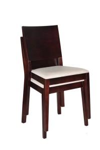 Krzesło restauracyjne tapicerowane Caren AS.