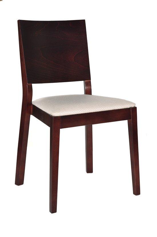 Krzesło restauracyjne tapicerowane Caren AS