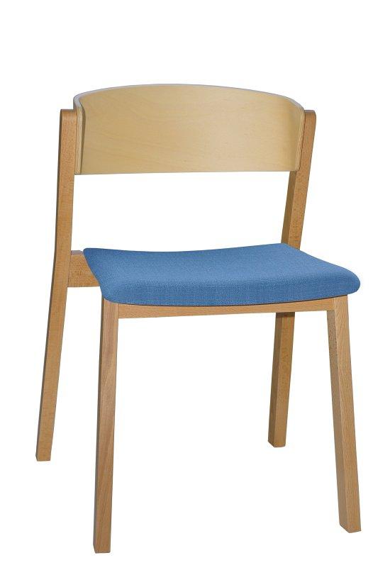 Krzesło restauracyjne tapicerowane Cava A1
