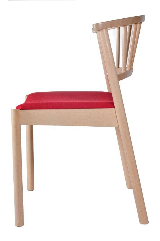 Krzesło restauracyjne tapicerowane Cirila AS.