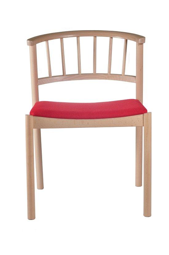 Krzesło restauracyjne tapicerowane Cirila AS
