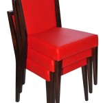 Krzesło restauracyjne tapicerowane Megi AS