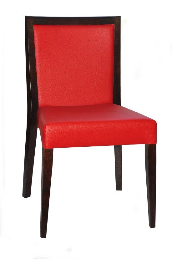 Krzesło restauracyjne tapicerowane Megi AS.
