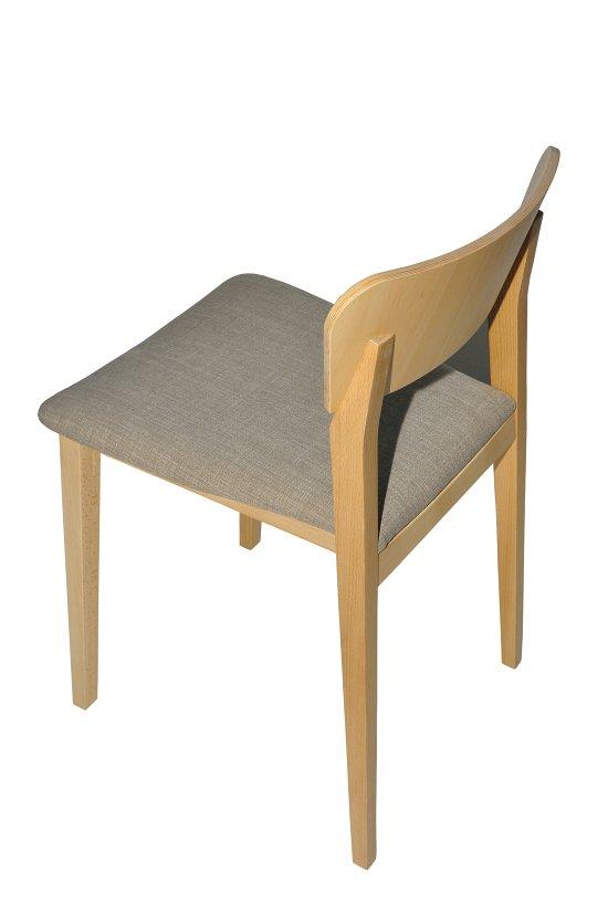 Krzesło restauracyjne tapicerowane Neti AS.