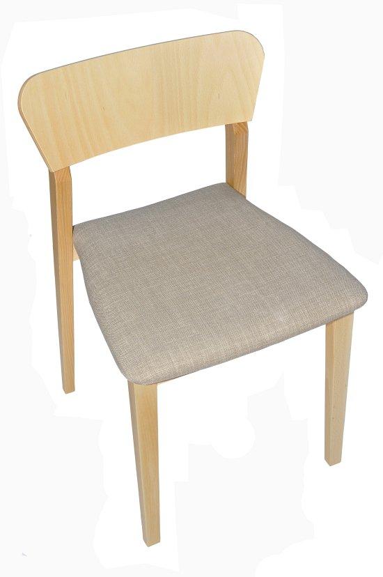 Krzesło restauracyjne tapicerowane Neti AS