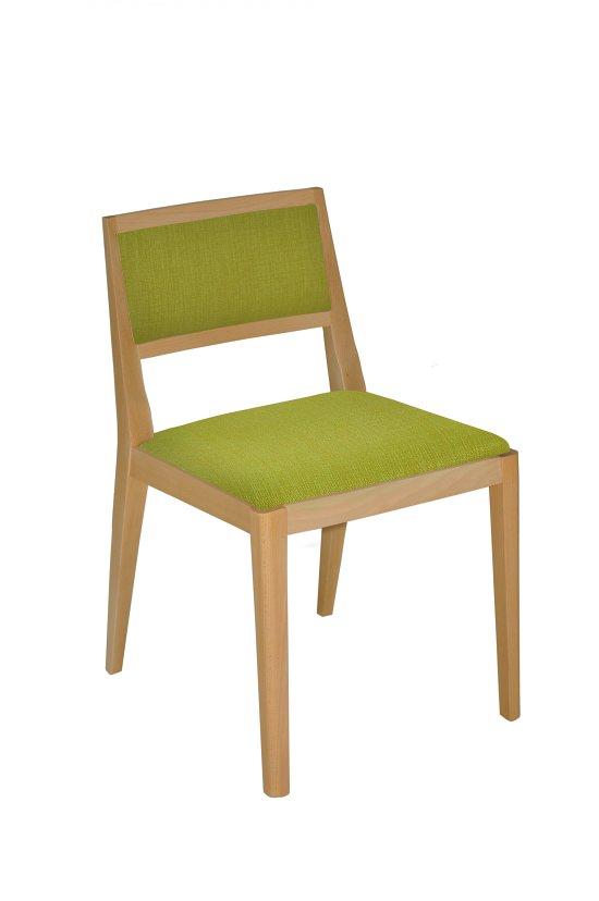 Krzesło restauracyjne tapicerowane Nowa 1 AS
