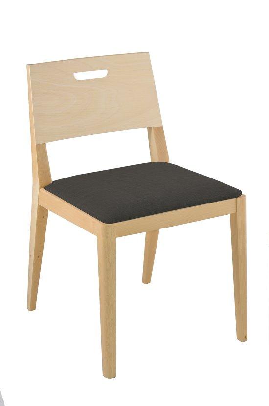 Krzesło restauracyjne tapicerowane Nowa AS