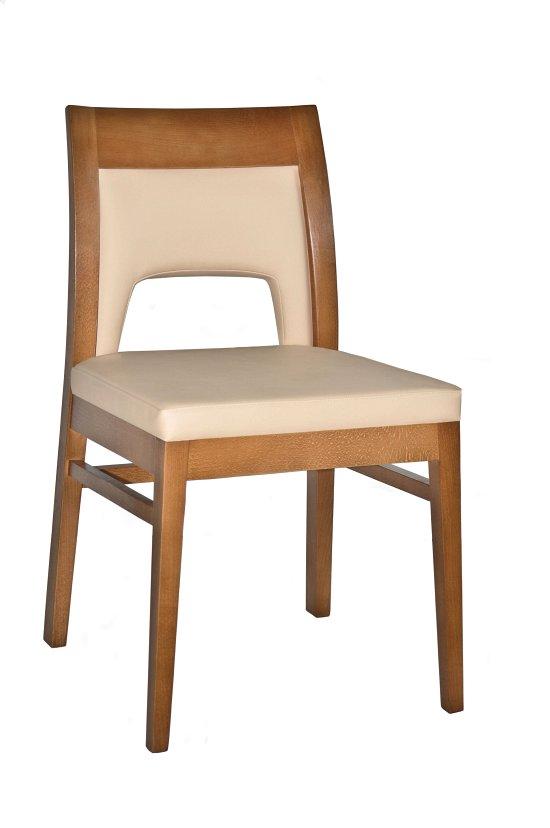 Krzesło restauracyjne tapicerowane Rema 1 AS