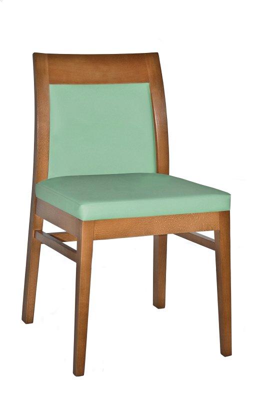 Krzesło restauracyjne tapicerowane Rema AS.