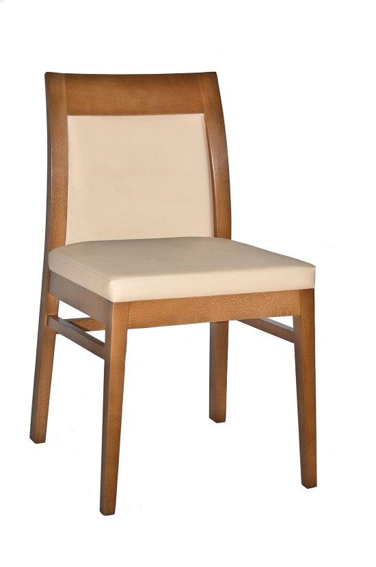 Krzesło restauracyjne tapicerowane Rema AS
