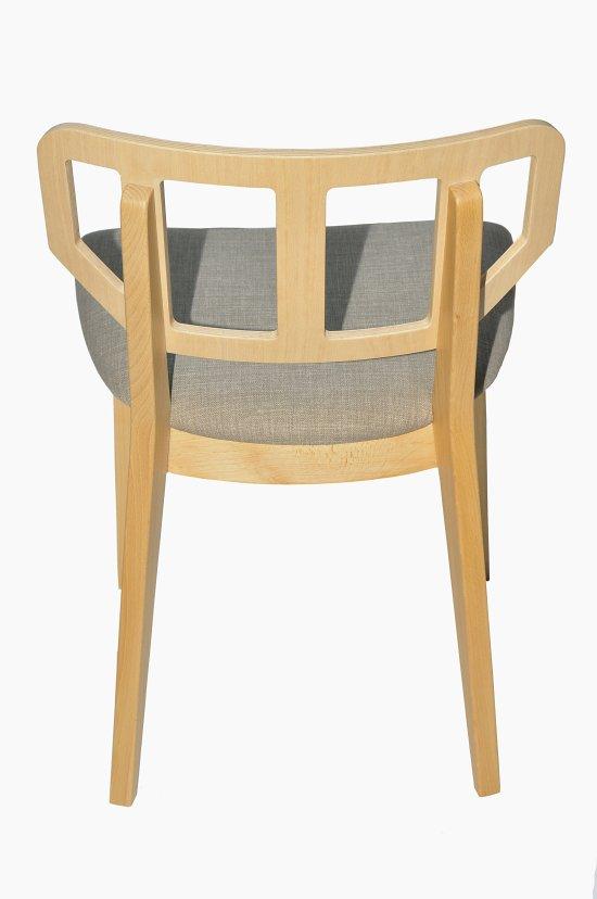Krzesło restauracyjne tapicerowane Saglio AS'
