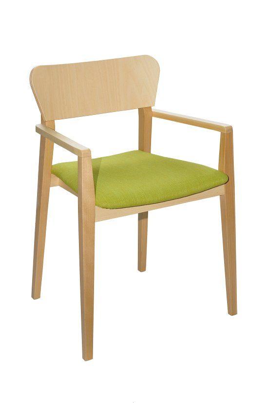 Fotel restauracyjny tapicerowany Neti BS