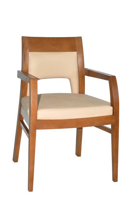 Fotel restauracyjny tapicerowany Rema 1 BS